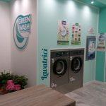 installazione lavanderia self service green wash lecce